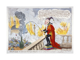 Smoak Jack the Alarmist  Extinguishing the Second Great Fire of London (A La Gullive)!!!  1819