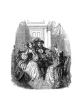 A Scene from Les Precieuses Ridicules by Moliere