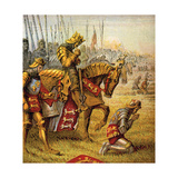 The Battle of Agincourt  1415
