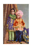 Hindu Children of North Kashmir  India  1922