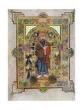 Portrait of St Mark or St Luke  800 Ad