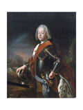 Portrait of Christian August  Prince of Anhalt-Zerbst  (1690-174)  1725