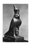 A Horus Falcon with King Nectanebo I (380 Bc-362 B)  C370 BC