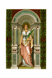 St Agatha  Virgin and Martyr  1886