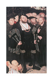 Martin Luther with Reformers  C1530