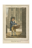 Matches  Cries of London  1804
