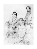Mr and Mrs Joseph Woodhead  and Mr Henry Comber  Rome  1816