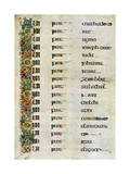 The Genealogy of Christ  800 Ad
