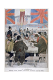 Dinner for the Poor in Celebration of the Coronation of King Edward VII  London  1902