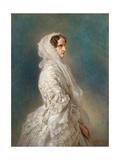 Portrait of Empress Alexandra Fyodorovna (Charlotte of Prussi)  1856