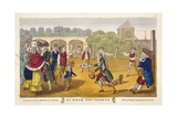 Summer Amusement  Possibly at White Conduit House  Islington  London  C1784