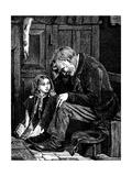 Man at Church Sitting in 'Free' Seat  London  1872
