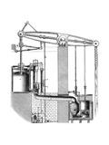 Cornish or Single Acting Pumping Engine  1866