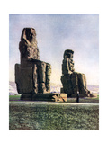 The Colossi of Memnon  Thebes  Egypt  1933-1934