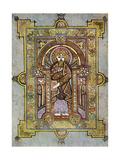 Portrait of St Matthew, 800 Ad Giclée