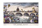 London Bridge  London  1831