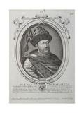 Portrait of the Tsar Alexis I Mikhailovich of Russia (1629-167)  Second Half of the 17th Century