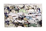 Battle of the Little Big Horn  Montana  USA  25-26 June 1876