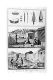 Sea Fishing  Net Manufacture  1751-1777
