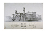 New Royal Exchange  City of London  1839