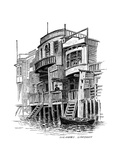 The Grapes Public House  Limehouse  London  1887