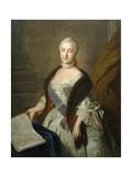 Catherine II as Grand Duchess Ekaterina Alekseyevna  1762