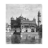 The Golden Temple and the Lake of Immortality at Amritsar  India  1895