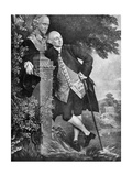 David Garrick (1717-177)  English Actor  Playwright  Theatre Manager and Producer  1905