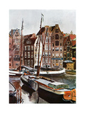 View of Amsterdam  1907 (1911-191)