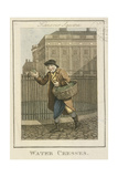Water Cresses  Cries of London  1804