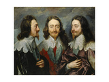 Charles I  King of England (1600-164)  from Three Angles (The Triple Portrai)  1636