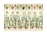 Seven Prince Electors Voting for Henry VII  Holy Roman Emperor  1341