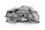 An Early Triumph Motorcycle  1911-1912