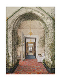 Interiors of the Winter Palace  the Small Winter Garden in the Apartments of Alexandra Fyodorovna