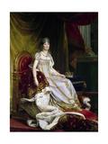 Joséphine De Beauharnais  the First Wife of Napoléon Bonaparte in Coronation Costume  1807-1808