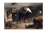 Scene from the Franco-Prussian War  1875