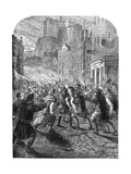 A Mob Carrying Captain John Porteous to His Execution  Edinburgh  1736