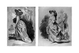 Gainsborough's Studies for His Celebrated Portrait of the Duchess of Devonshire  C1787