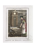 Baking or Boiling Apples  Cries of London  1804