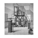 Giant Galvanometer in the Physics Laboratory  Cornell University  New York  USA  1886