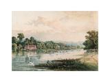 Lake at Virginia Water  1880