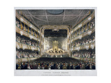 Interior View of Covent Garden Theatre  Bow Street  Westminster  London  1808