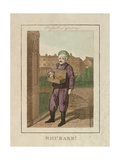 Rhubarb!  Cries of London  1804