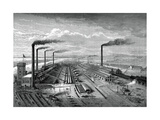 The Iron and Steel Works at Barrow  C1880