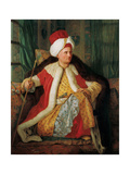 Portrait of Charles Gravier Count of Vergennes and French Ambassador  in Turkish Attire