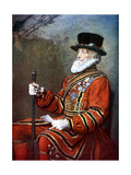 A Yeoman of the Guard  C1905