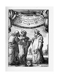 Frontispiece of the Dialogue Concerning the Two Chief World Systems by Galileo Galilei  1632