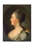 Portrait of Empress Catherine II  (1729-179)  before 1762