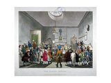 Bow Street Police Court  Westminster  London  1808