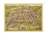 Vilnius (From Urbium Praecipuarum Mundi Theatrum Quintum by Georg Brau)  1580s